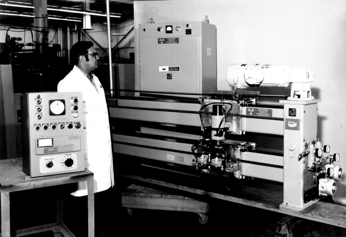 The History of X-ray thickness gauging in the steel industry